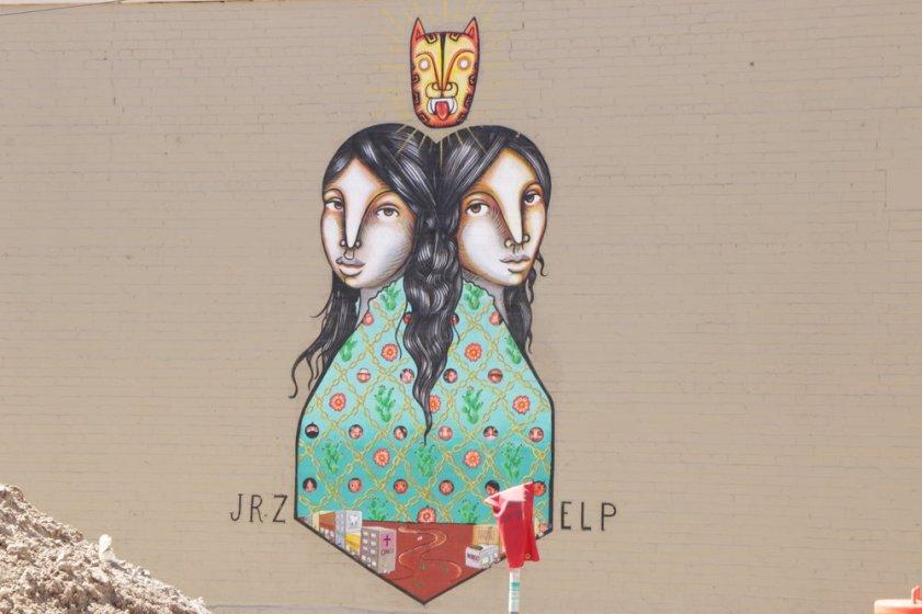 Mural by Los Dos